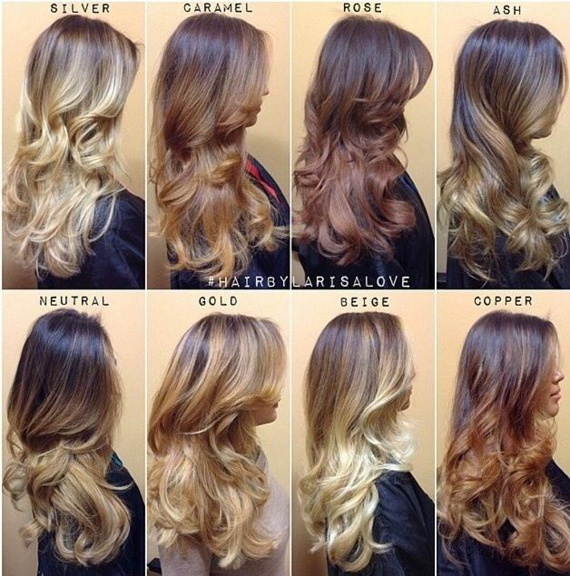 The Ombre Color Guide – Hair Heaven