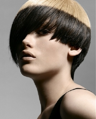 Its all in the color block hair heaven two tone colour hair highlights idea pmusecretfo Image collections