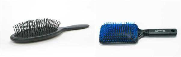 looper brush used to comb 100% genuine human indian hair extensions