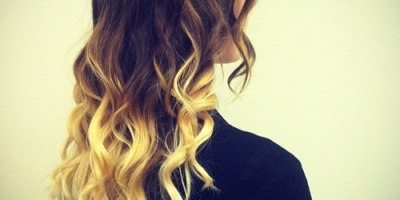 DIY dip dye for hair and hair extensions that are 100% natural and genuine Indian human hair