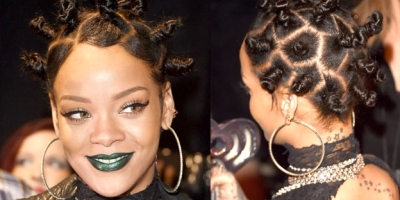 How to pull off a Bantu Know with kinky weaves/ hair extensions