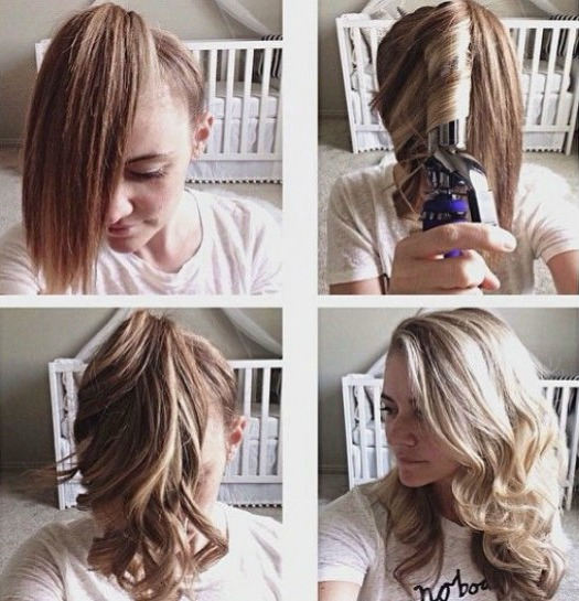 How to curl your Indo Hair weaves to get a quick long curl