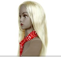 Straight-Hair-Wigs-Indo-Hair 100% Natural Virgin Indian Human Hair
